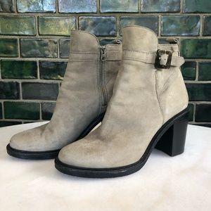 Elizabeth and James Tilie Suede Heeled Ankle Boots